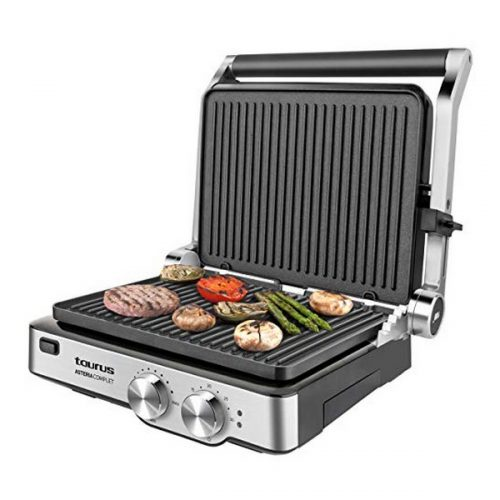 Contactgrillstand Taurus Asteria Complet 2000W Roestvrij staal