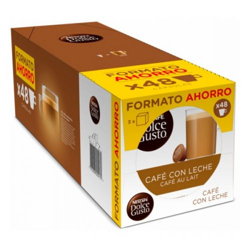Koffiecapsules Cafe Au Lait Nescafé Dolce Gusto Dolce Gusto (48 uds)